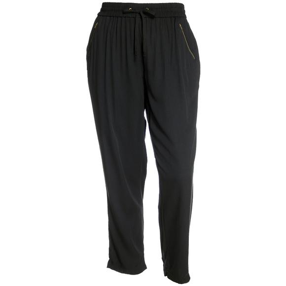 Style & Co Pants - Black Straight Leg Zipper Pocket Pull On Pants NEW